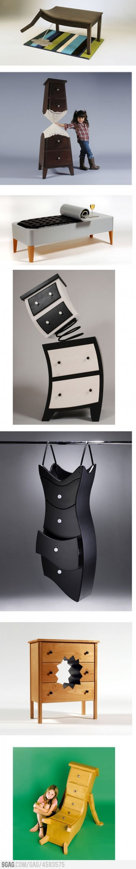 Furniture designers are some of the most interesting people.