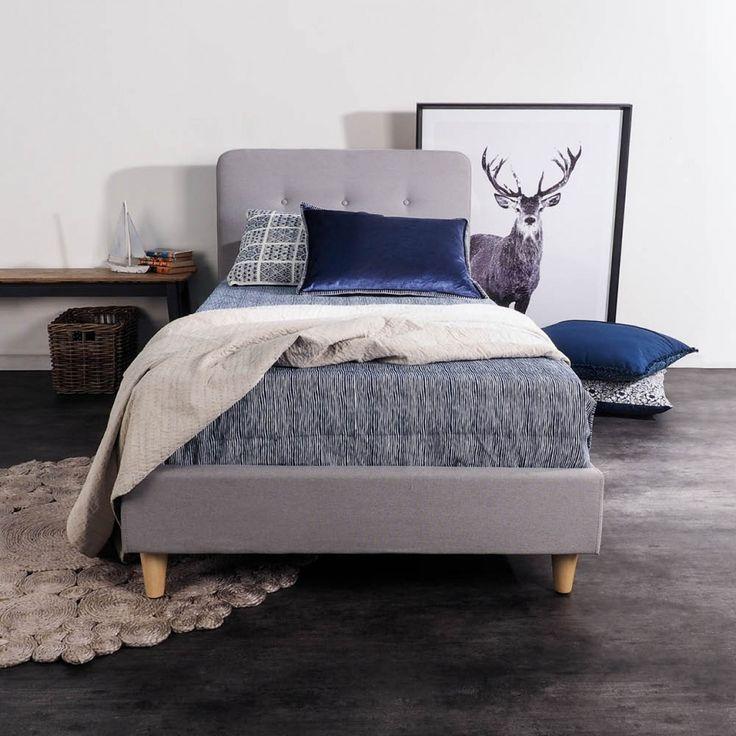 Logan Upholstered King Single Bed