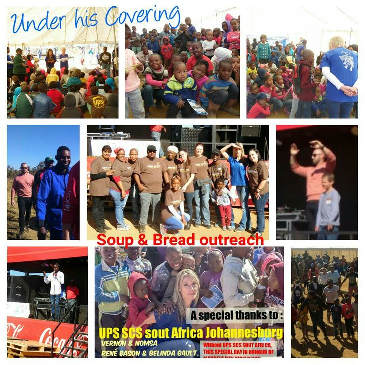 Under His Covering. SOUP & BREAD OUTREACH. Carike Pretorius,  Pastor,  Francis Okwabeng,  Did Jacobs
