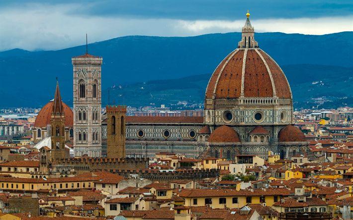 Lataa kuva Firenzen Katedraalista, Cathedral of Santa Maria del Fioren katedraali, Firenze, Italia