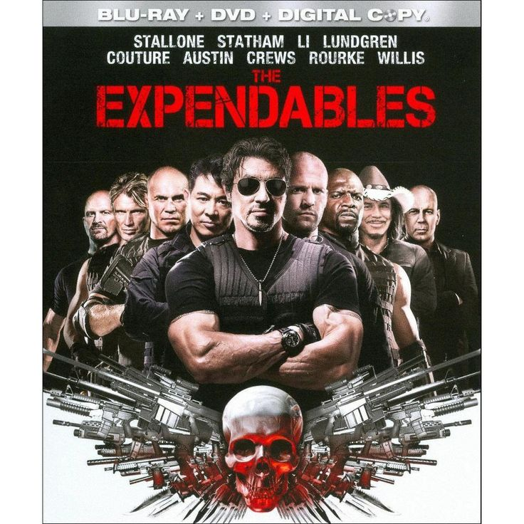 The Expendables Blu Ray Dvd The Expendables Expendables Movie Sylvester Stallone