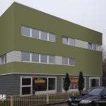 Design II – Wohn- und Gewerbeimmobilie in Altwarmbüchen – Wärmedämmung Hannover Malerfachbetrieb HEYSE  Individuelles Farbkonzept für eine Fassade. Farbliche Kontraste und Harmonien bestimmen die Wirkungsweise eine Fassade erheblich und sind das prägende Instrument in der Architekturgestaltung.
