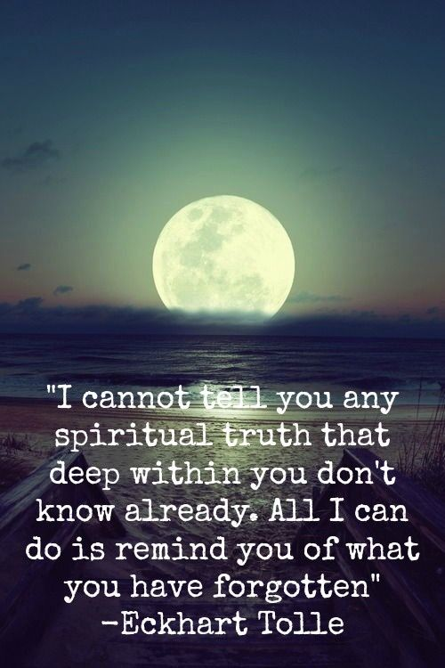 Image result for Eckhart tolle full moon quotes