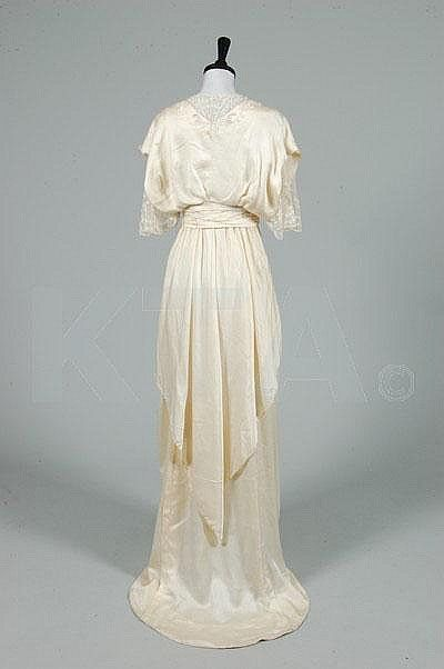 House of Worth dresses   Old Rags - Wedding dress by House of Worth, ca 1913 France,...