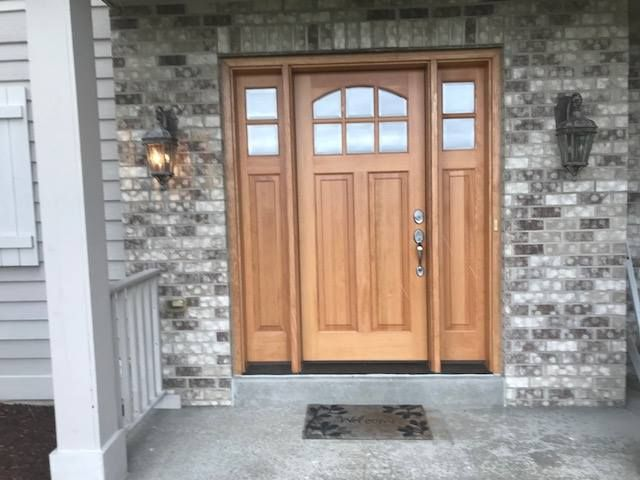 Free Replacement Window Estimate Front Doors With Windows Entry Door With Sidelights House Exterior