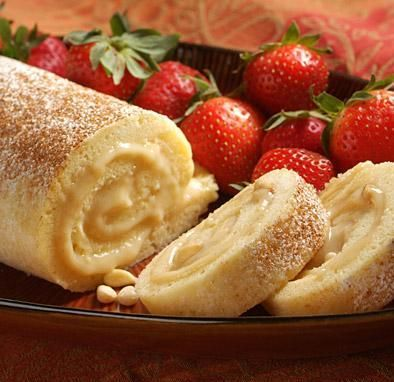 Ricetta dolce spagnolo, Brazo de Gitano.