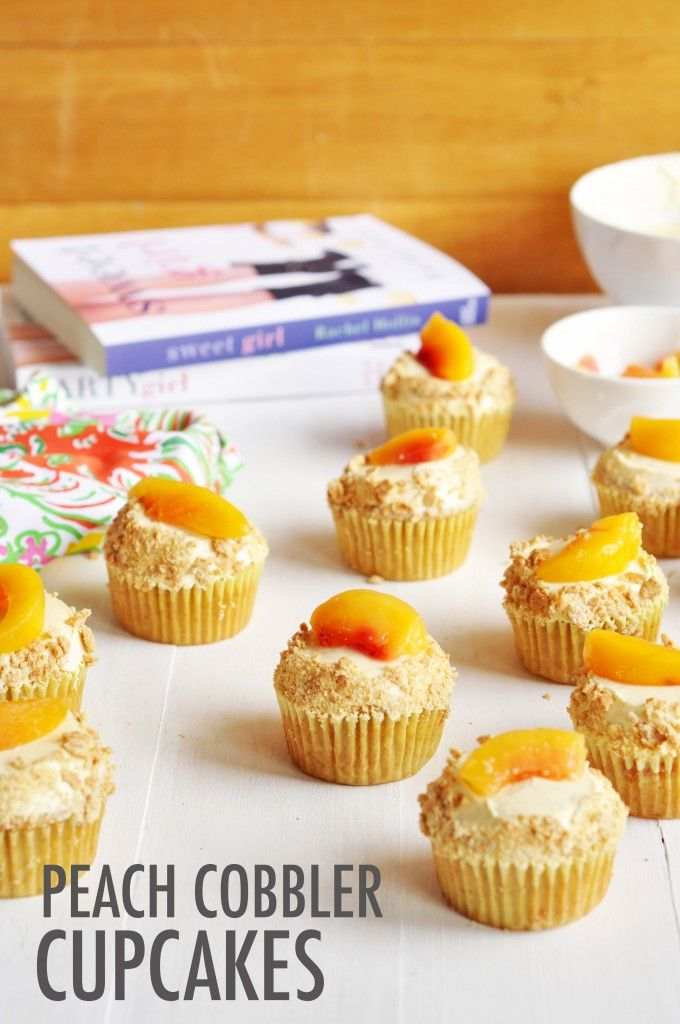 Peach Cobbler Cupcakes | The Chic Site