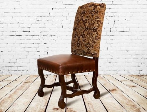Refined Mountain Leather Chair   Woodland Creek Furniture 2014