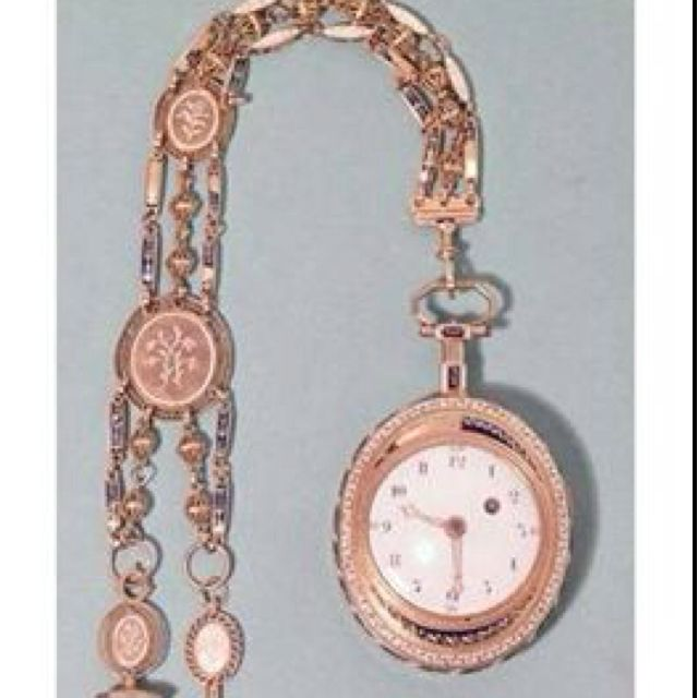 Marie Antoinette's watch, perhaps the one sent to her by her mother, her most prized possession