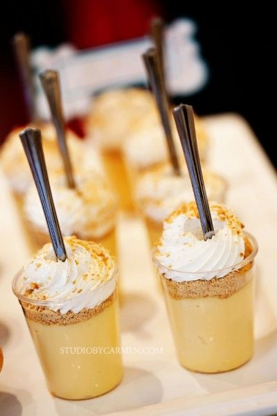 key lime pie dessert shots