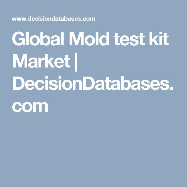 Global Mold test kit Market | DecisionDatabases.com
