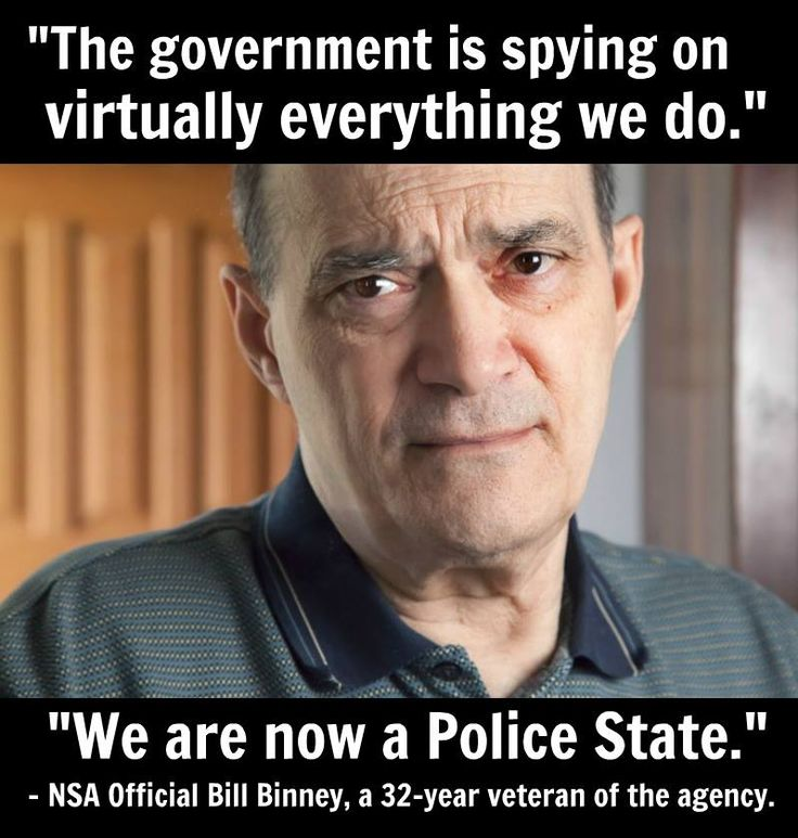 "Former Top NSA Official: ""We Are Now In A Police State"" So In Other Words Keep You Pecker In Your Pants ole Boy If You Don't Want To Take A Ride On The Reading and We Don't Mean The Railroad Either"