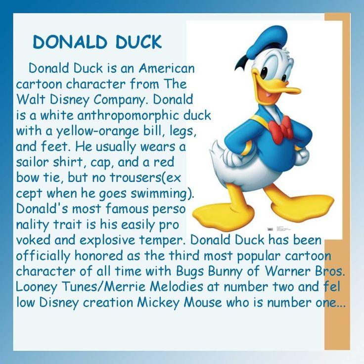 Donald Duck Zitate