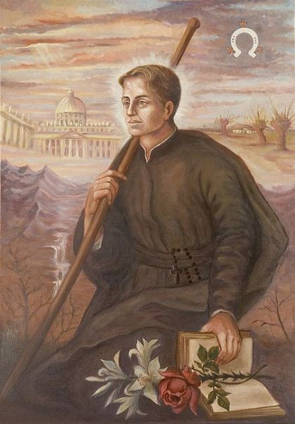 Saint of the Day – 13 November – St Stanislaus Kostka SJ (1550-1568) Jesuit Novice (28 October 1550 at Rostkovo, Poland – between 3 and 4 am of 15 August, feast of the Assumption of the Blessed Virgin Mary, 1568 at Rome, Italy from a high fever).  Patronages – • against broken bones• aspirants to the Oblates of Saint Joseph.....