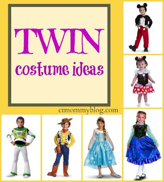 Twin Halloween Costume Ideas