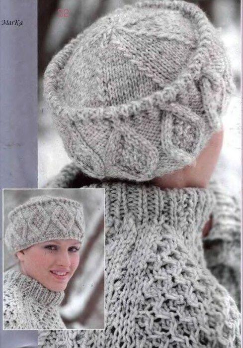 Crochet inspiration : love the pillbox (?) style hat!