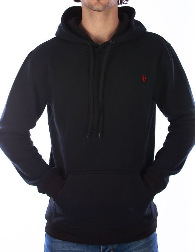 WISHFUL THINKING Hooded Sweat in Black available at Clique Arcade