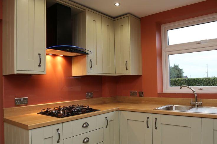 55 best glass kitchen splashbacks images on pinterest for Cheap kitchen splashback ideas