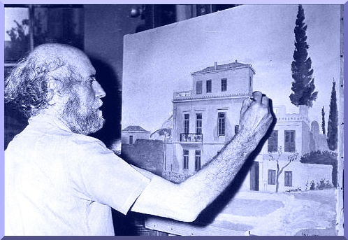 Yannis Tsarouchis :  Greek painter , revolutionary and classic at the same time cleansing the icon of Hellenism of its excess gold , rediscovering tradition
