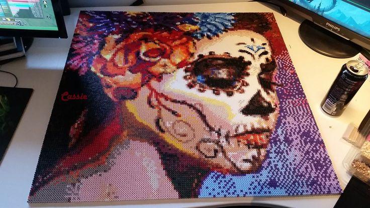 Perler bead art by MissingInk - Original design: https://de.pinterest.com/pin/374291419001709398/