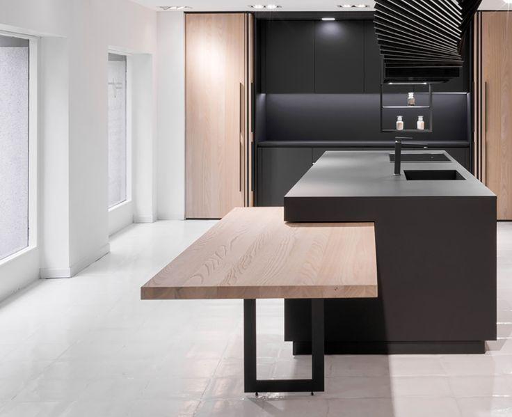 Idee Panel De Bois Ikea Comptoir De Cuisine Avec Patte Ilot Instantane Kitchen Design Open Interior Design Kitchen Contemporary Kitchen