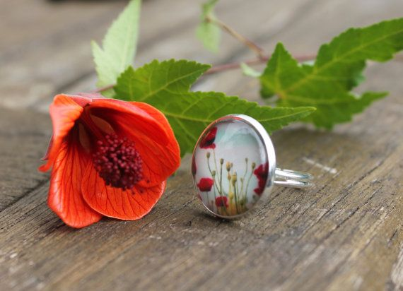 Hey, I found this really awesome Etsy listing at https://www.etsy.com/listing/164940787/poppy-ring-floral-fields-of-poppies