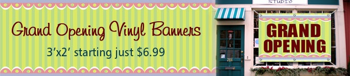 Grand Opening Banners | Grand Opening Vinyl Banners | BannerBuzz.com