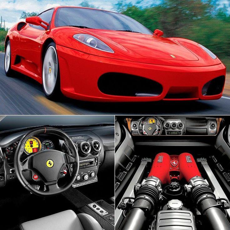Ferrari F430 (2005) #tbt Quinta é dia de relembrar os clássicos! Apresentado no Salão do Automóvel de Paris 2004 o superesportivo começou a se produzido naquele ano (como modelo 2005) até 2009. A F430 foi criada em parceria com o estúdio Pininfarina e se inspirava nos modelos clássicos de corrida. Vinha com motor central 4.3 V8 com 490 cavalos e 465 Nm de torque. A tração era traseira a transmissão semi-automática de seis velocidades. O voalnte vinha com um 'manetino' para ajustar modos de…