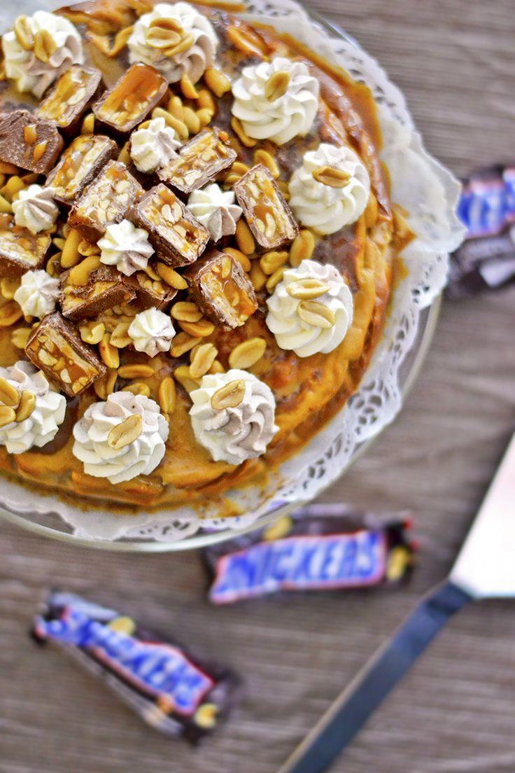 Snickers-Juustokakku (Gluteeniton)