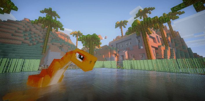 Add tons of dinosaurs into your game with this mod! Relive your childhood fantasies in Minecraft!