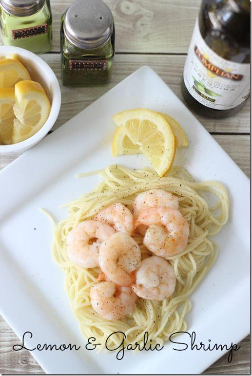 Healthy Recipe: Lemon Garlic Shrimp