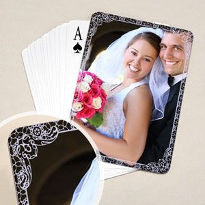 Wedding Playing Cards Favors With My Photos
