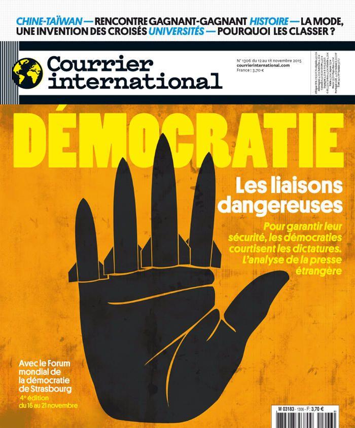 Courrier International 1306, du12 novembre 2015
