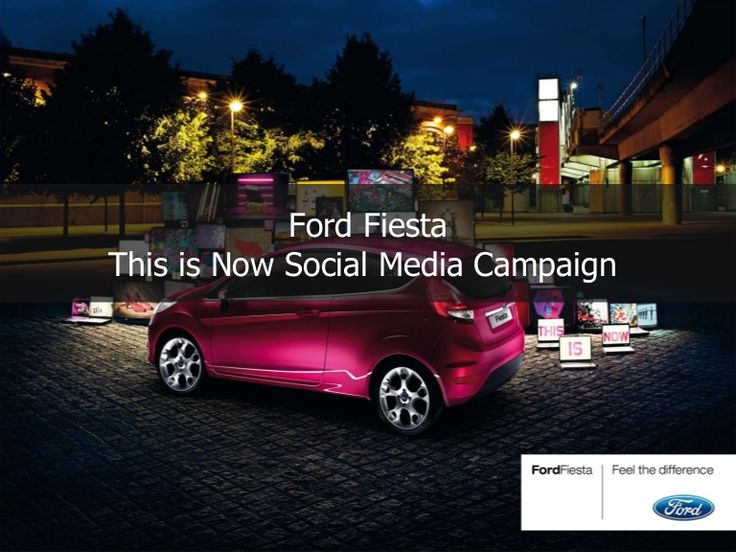 Ford's European social media campaign for the Fiesta fords-european-social-media-campaign-for-the-fiesta-1435103 by We Are Social  via Slideshare