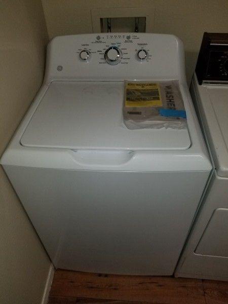 GE WashingMachine less than 2 years old Appliances