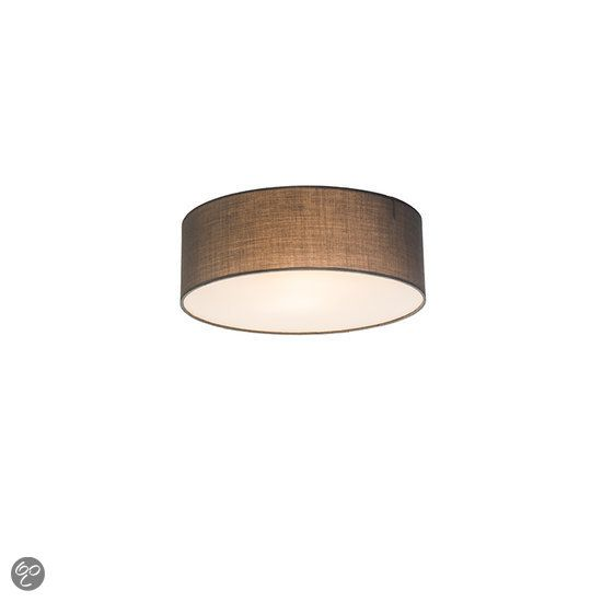 Plafondlamp Drum Eco 30 grijs