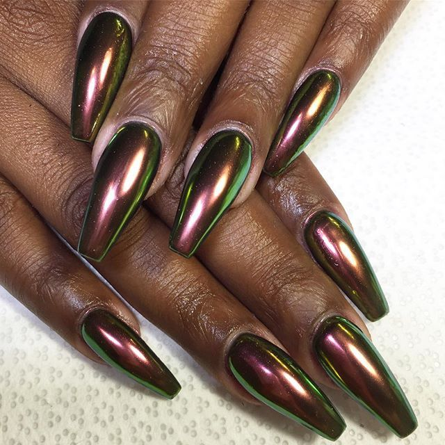 Chrome nails @KortenStEiN