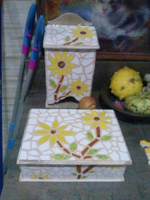 Trabajo en mosaico. Mila