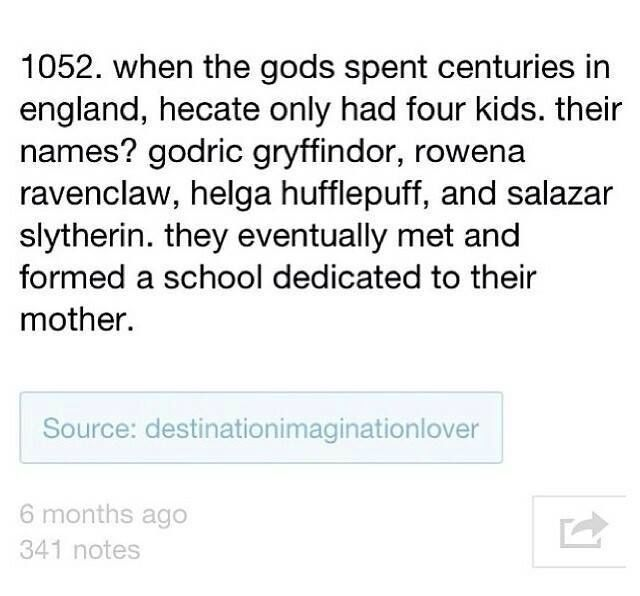 IM NOT THE ONLY ONE WHO THINKS OF THIS STUFF!!! That would make our dear purebloods... wait for it... the descendants of half bloods! Oh how Malloy would HATE this. (Smirk face)