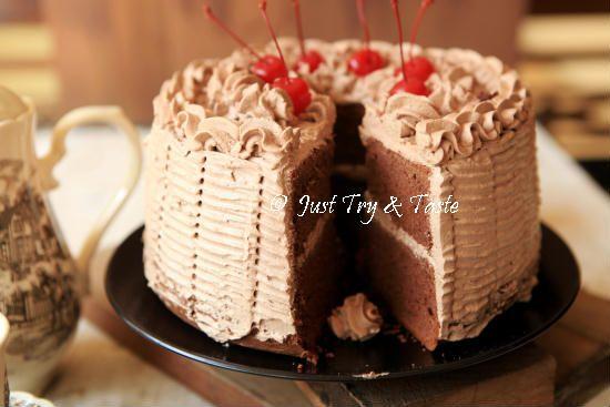Resep Fruit Cake Jtt: Resep Cake Chiffon Coklat Dengan Krim Mocca JTT
