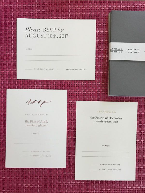 are labels on wedding invitations tacky%0A These Are the Perfect Wedding Invites for Brides on a Budget