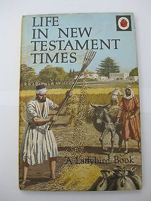 Vintage Ladybird Book - Life In New Testament Times