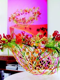 """Flower Moments"" -   The tenth anniversary of Life3, the successful partnership between florists Per Benjamin, Tomas De Bruyne and Max van de Sluis."