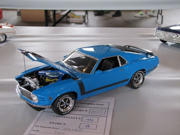 Boss 302 model car