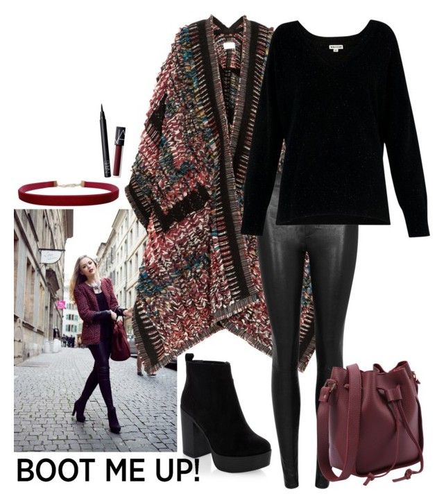 """""""Chelsea Boots"""" by katykitty5397 ❤ liked on Polyvore featuring New Look, Chloé, Helmut Lang, Humble Chic, NARS Cosmetics, Whistles, Boots and chelseaboots"""