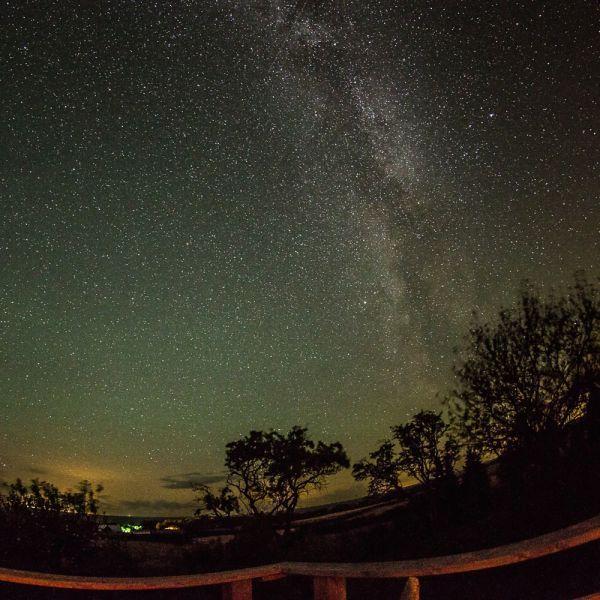 Dark Sky Concept at Camping Moens Klint Denmark