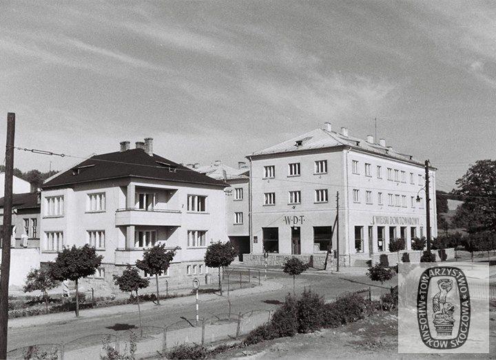 Skoczów: kiedyś i dziś. Wiejski Dom Towarowy