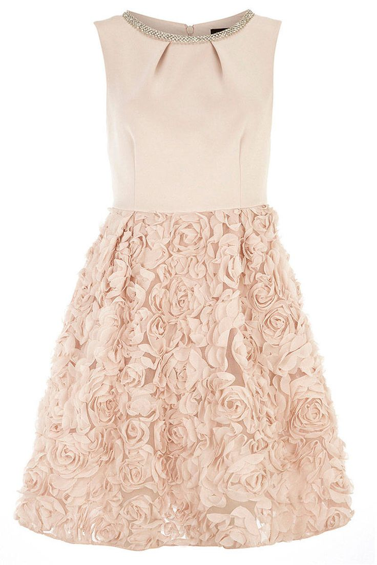 Peach dress for wedding guest   Best images about Dresses on Pinterest  Stitch fix Petite