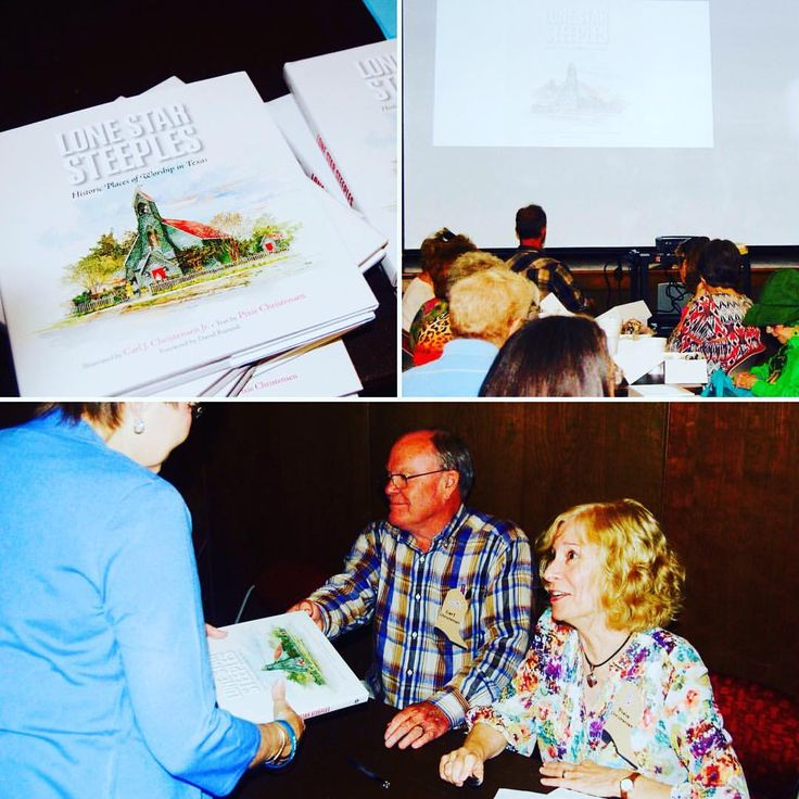 Carl & Pixie Christensen (Llano, TX) were the first #authors at the #AbilenePublicLibrary to help kick off the #WestTexasBookFestival that started on Monday. Sponsored by the #FriendsOfTheLibrary, this festival offers a week of literary events,...