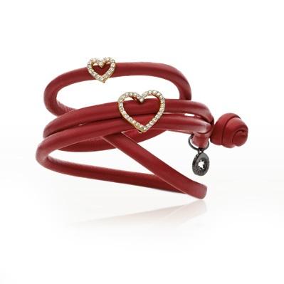 Sweet drops læderarmbånd, sweet drops armbånd fra Ole Lynggaard | Dirks Design